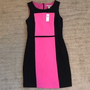 Banana Republic Pink and Black Dress